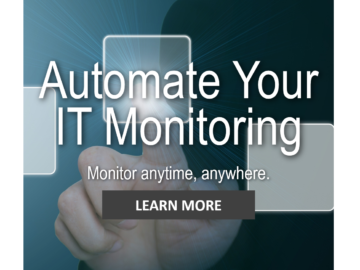 Pick up automated monitoring